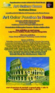 locandina Art Color Passion in Rome 2020-r